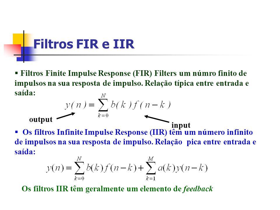 Filtros FIR e IIR