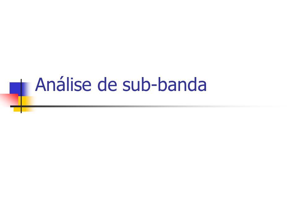 Análise de sub-banda