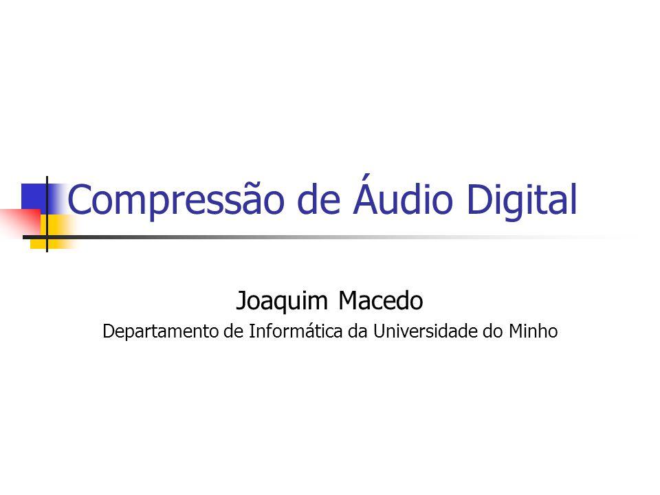 Compressão de Áudio Digital