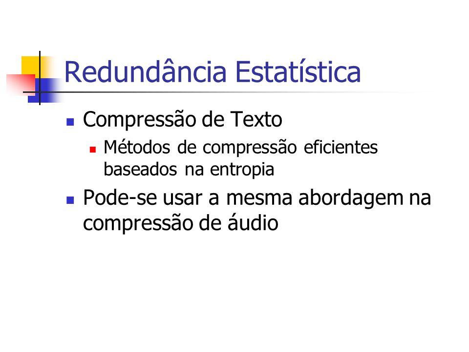Redundância Estatística