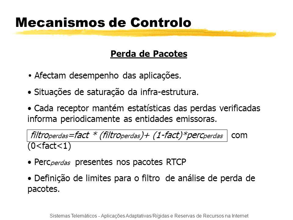 Mecanismos de Controlo