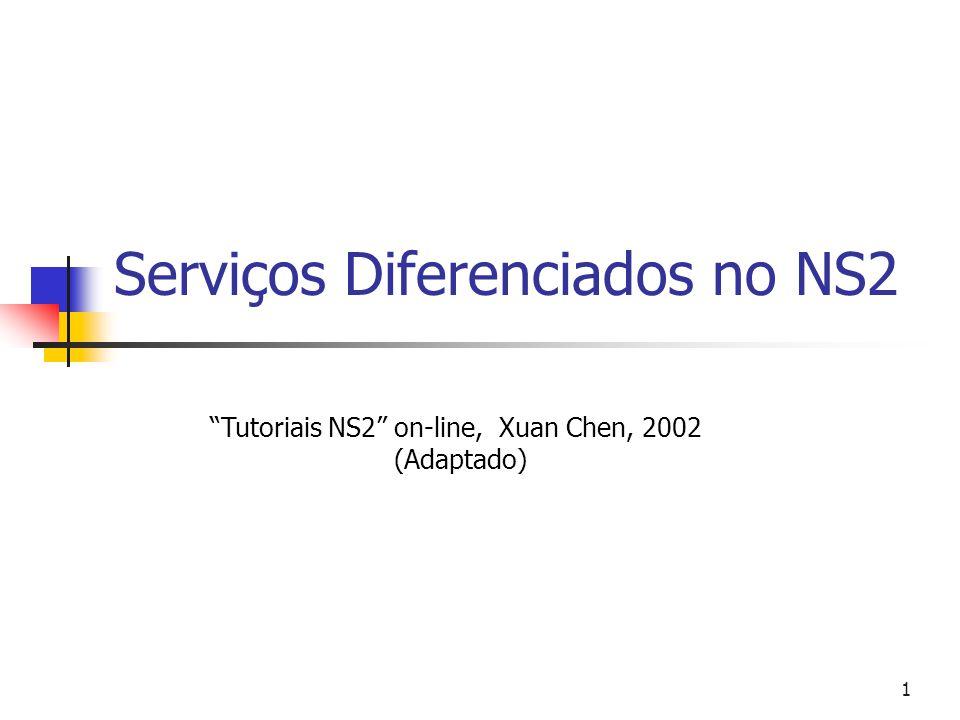 Serviços Diferenciados no NS2