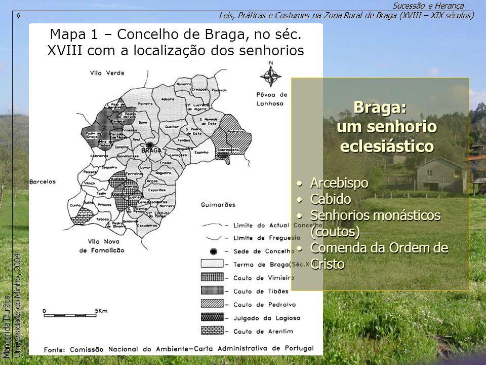 Braga: um senhorio eclesiástico