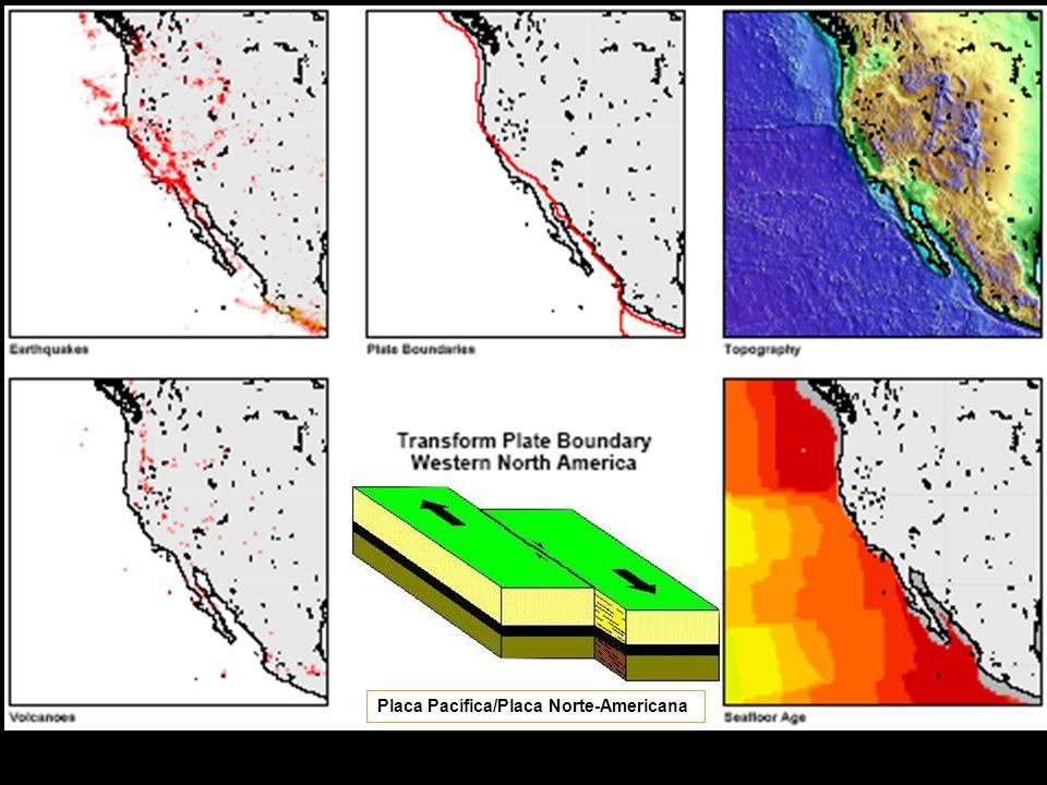 Placa Pacífica/Placa Norte-Americana