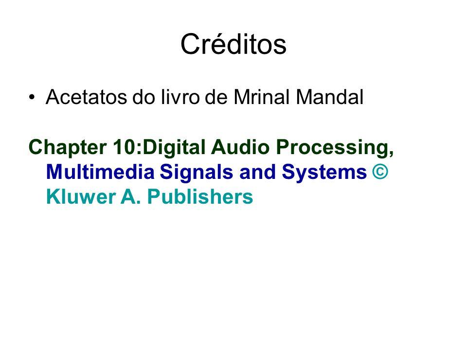 Créditos Acetatos do livro de Mrinal Mandal