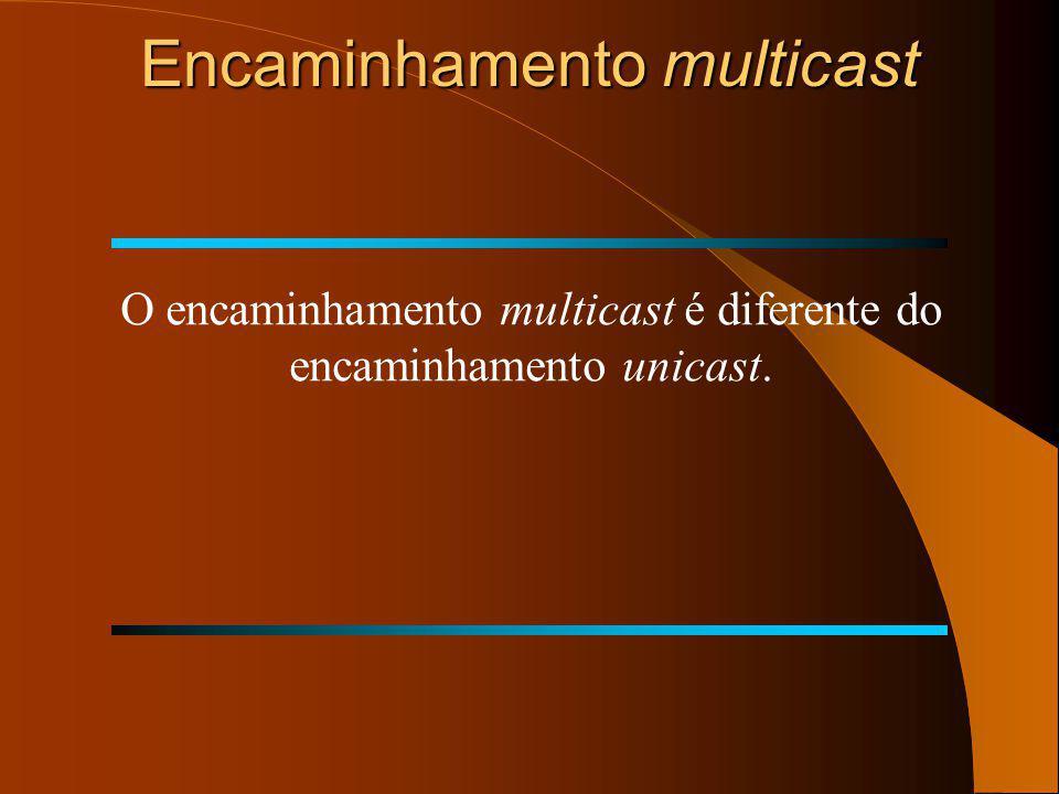 Encaminhamento multicast