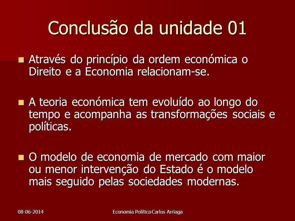Economia Política Carlos Arriaga
