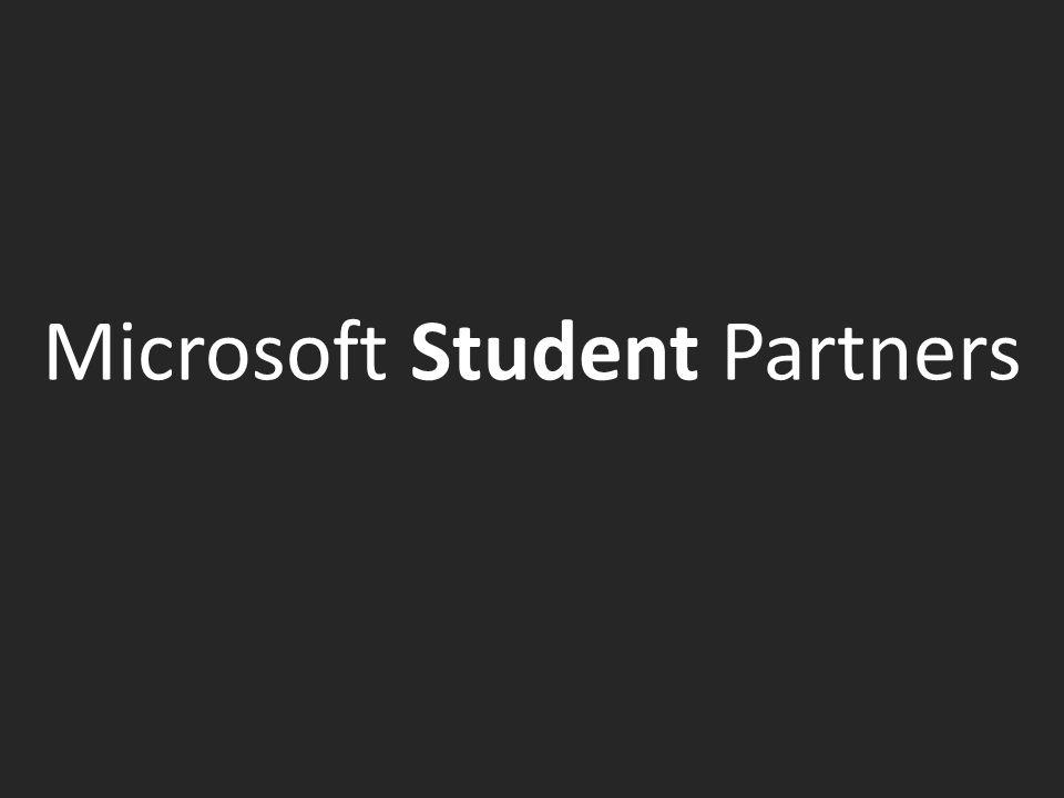 Microsoft Student Partners