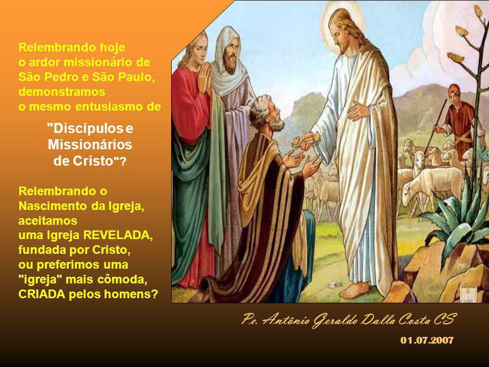 Discípulos e Missionários de Cristo