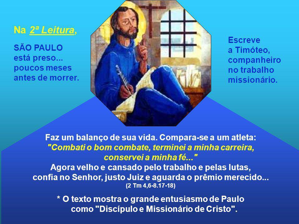 Na 2ª Leitura, SÃO PAULO está preso... poucos meses