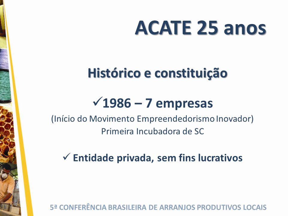 Histórico e constituição Entidade privada, sem fins lucrativos