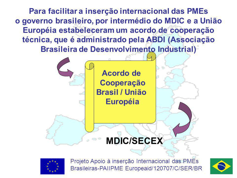 Para facilitar a inserção internacional das PMEs