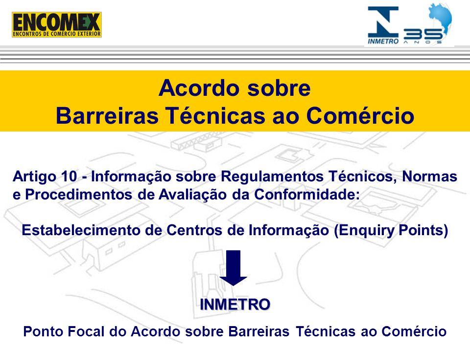 Acordo sobre Barreiras Técnicas ao Comércio