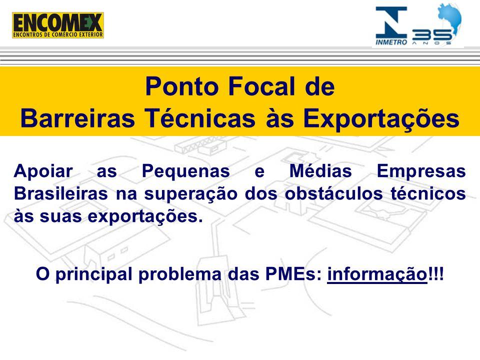 Ponto Focal de Barreiras Técnicas às Exportações