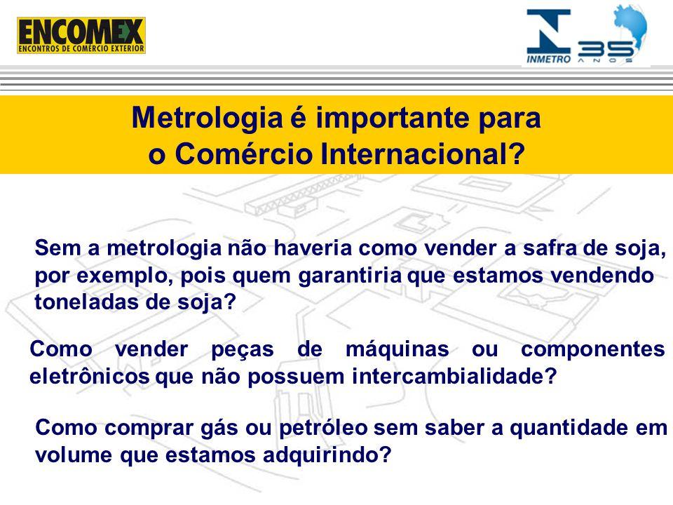 Metrologia é importante para o Comércio Internacional