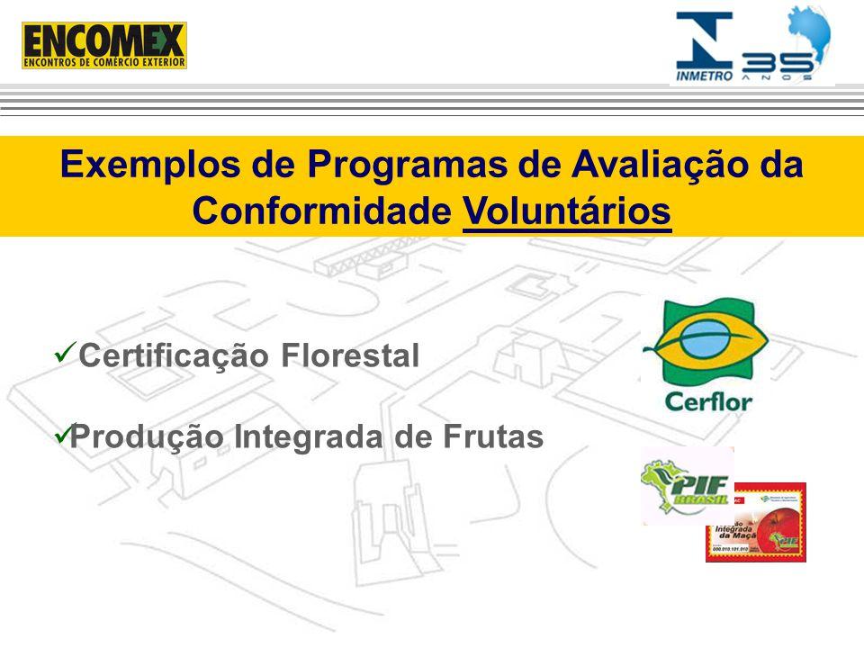 Exemplos de Programas de Avaliação da Conformidade Voluntários