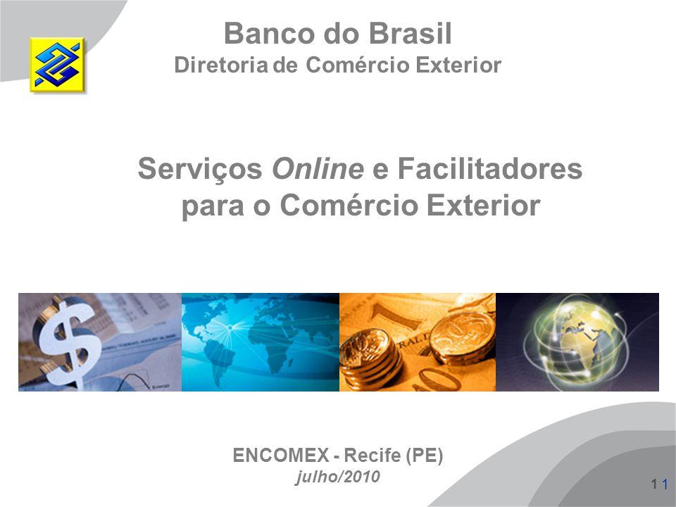Serviços Online e Facilitadores para o Comércio Exterior