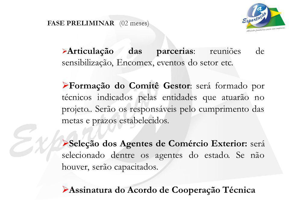 Assinatura do Acordo de Cooperação Técnica