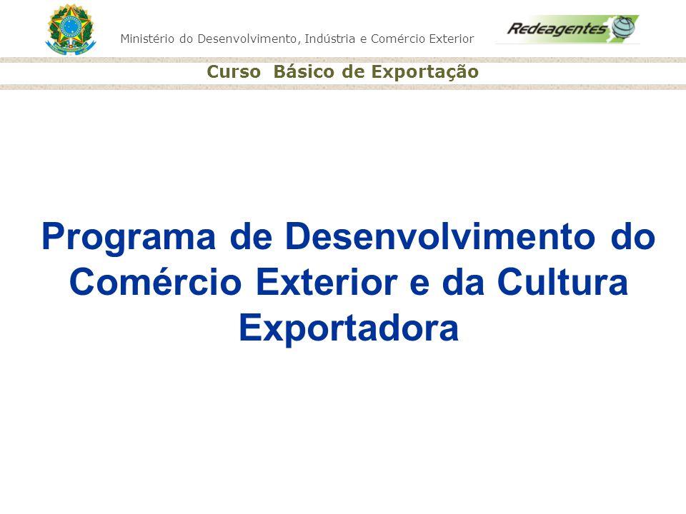 Programa de Desenvolvimento do Comércio Exterior e da Cultura Exportadora