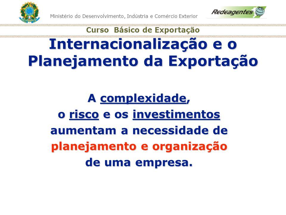 Internacionalização e o Planejamento da Exportação