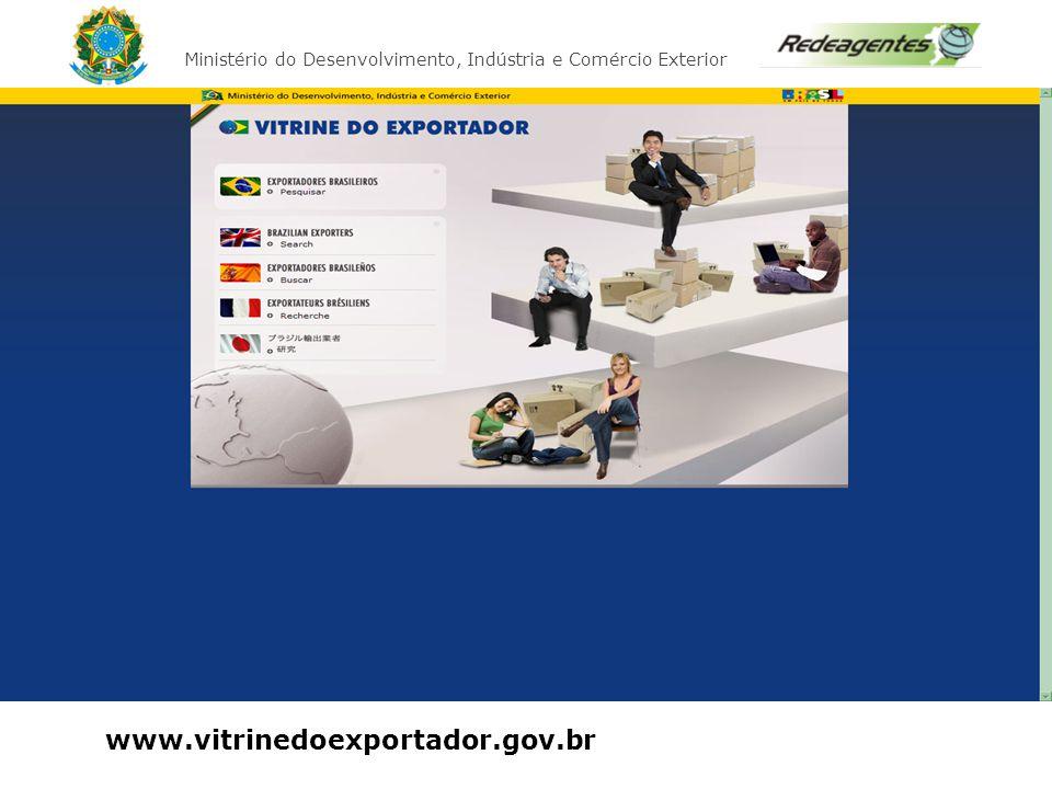 Apresentar a ferramenta Vitrine do Exportador