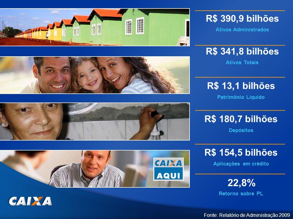 22,8% R$ 390,9 bilhões R$ 341,8 bilhões R$ 13,1 bilhões