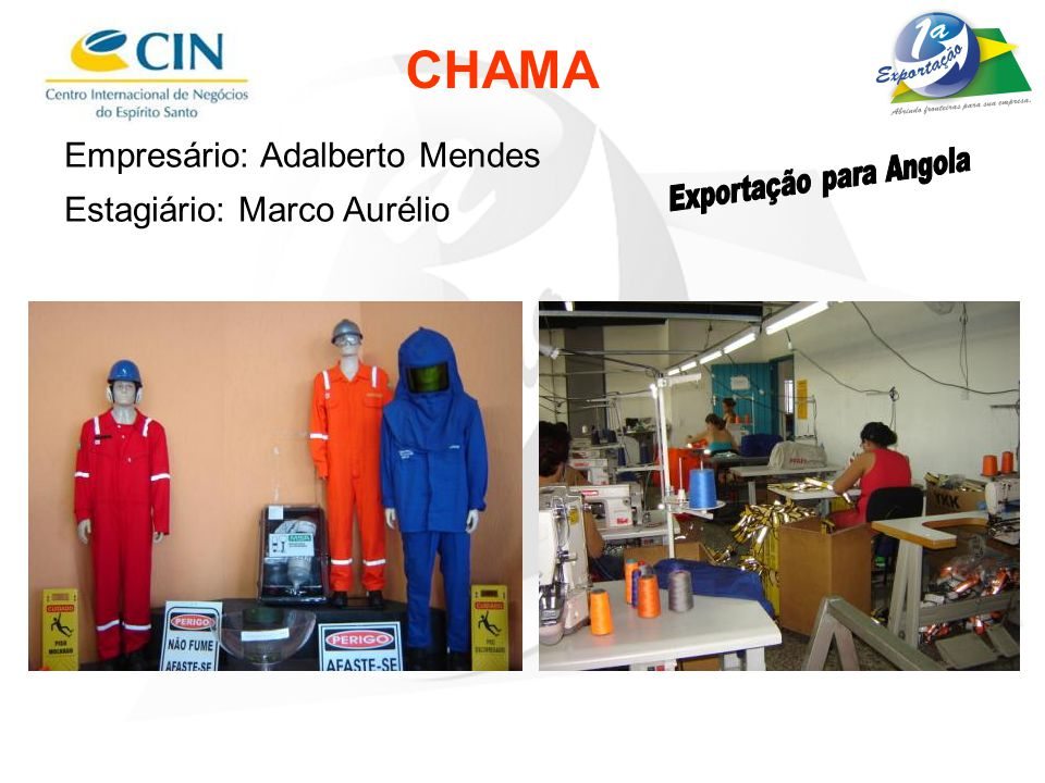 Exportação para Angola