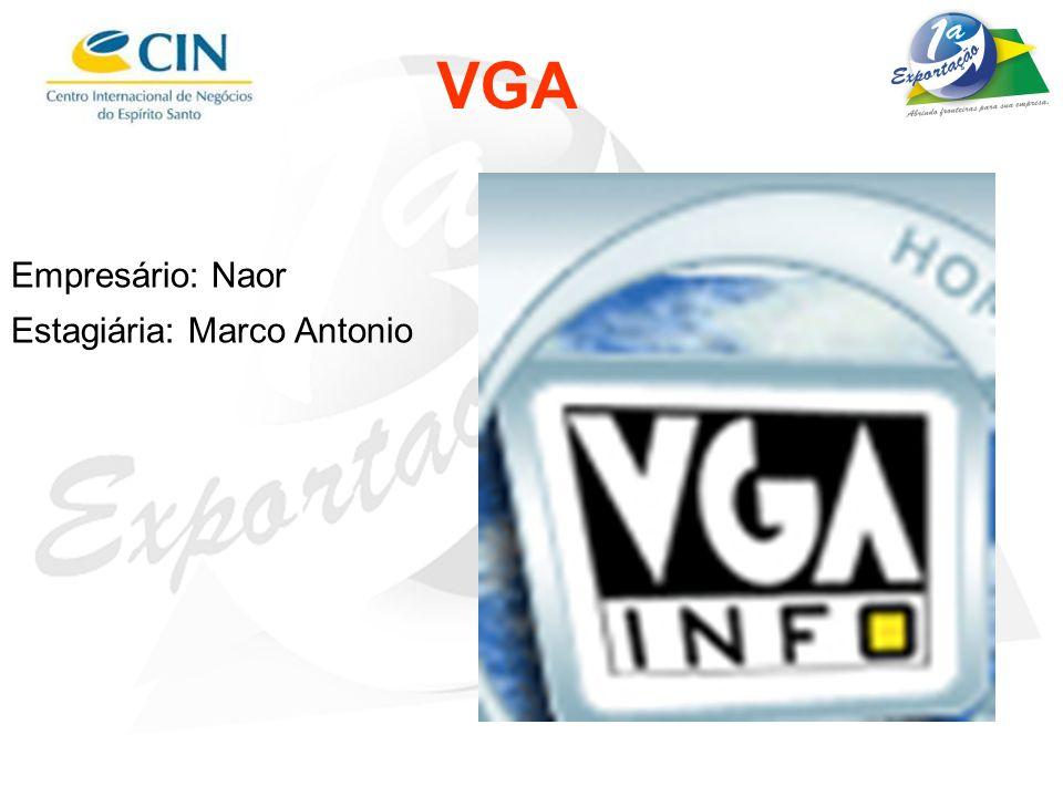 VGA Empresário: Naor Estagiária: Marco Antonio