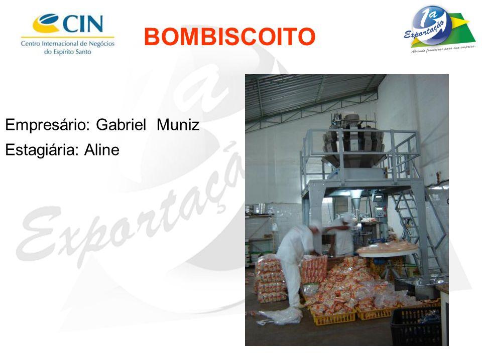 BOMBISCOITO Empresário: Gabriel Muniz Estagiária: Aline