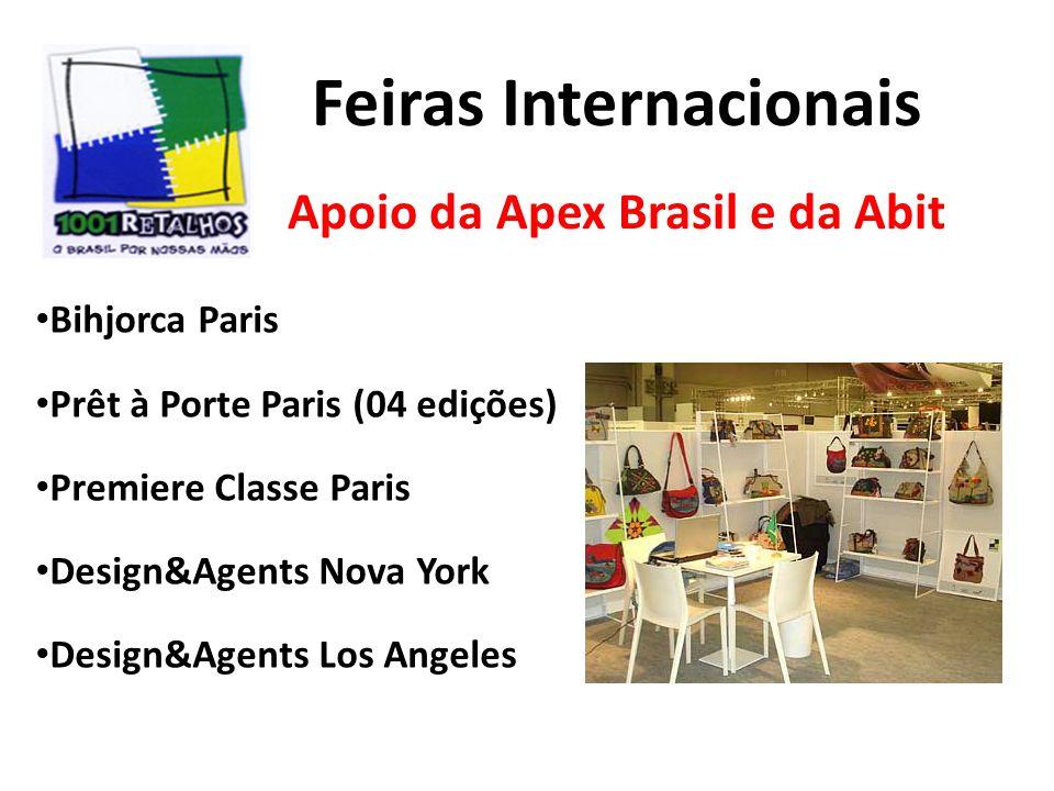 Feiras Internacionais Apoio da Apex Brasil e da Abit