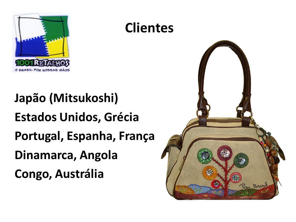Clientes Japão (Mitsukoshi) Estados Unidos, Grécia