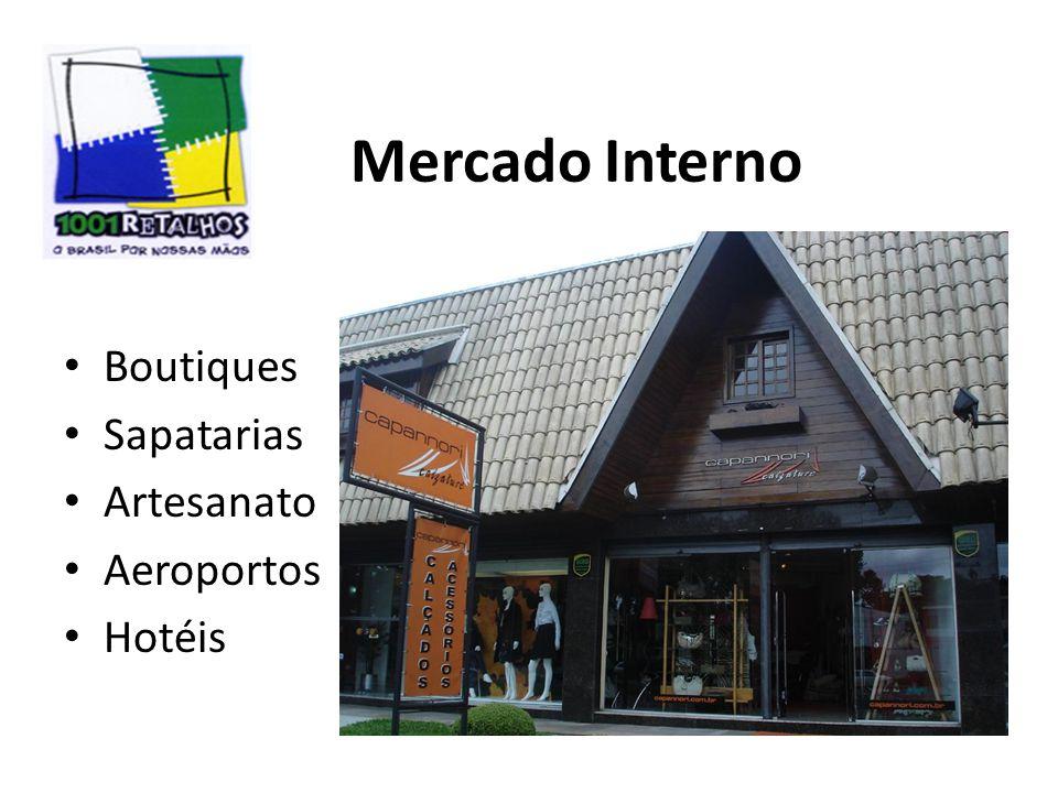 Mercado Interno Boutiques Sapatarias Artesanato Aeroportos Hotéis