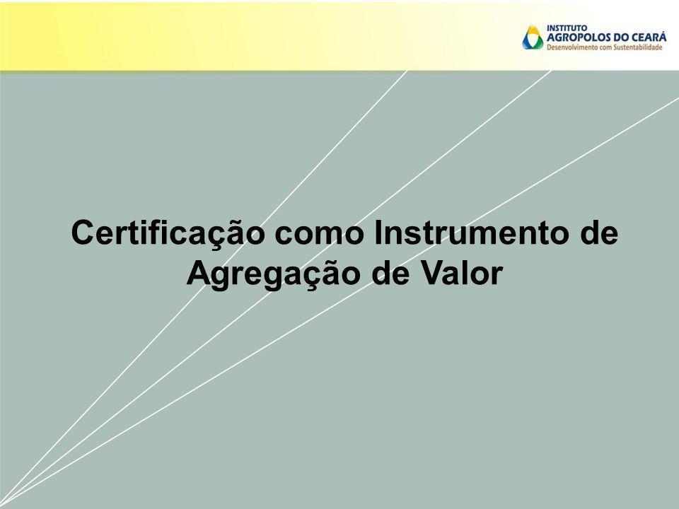 Certificação como Instrumento de Agregação de Valor