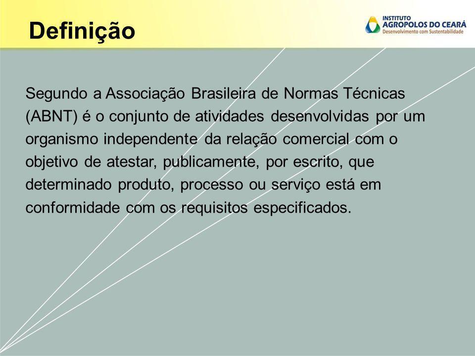 Definição Segundo a Associação Brasileira de Normas Técnicas