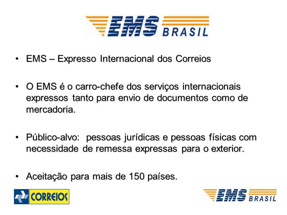 EMS – Expresso Internacional dos Correios
