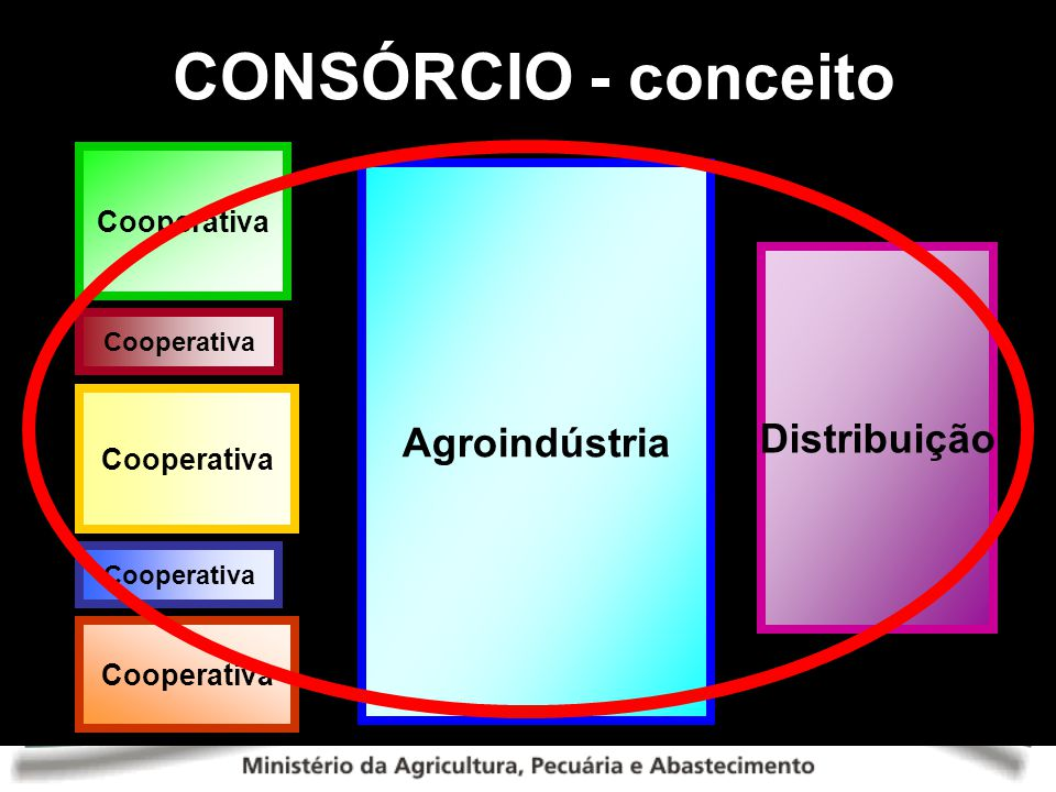 CONSÓRCIO - conceito Cooperativa Agroindústria Distribuição