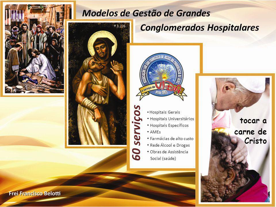 60 serviços Modelos de Gestão de Grandes Conglomerados Hospitalares
