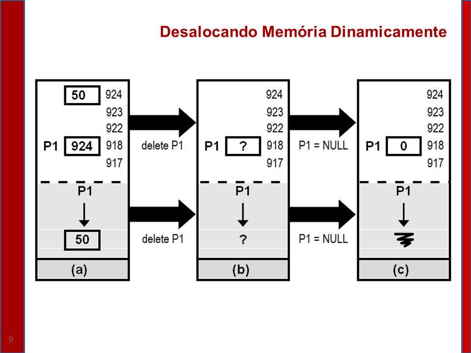 Desalocando Memória Dinamicamente