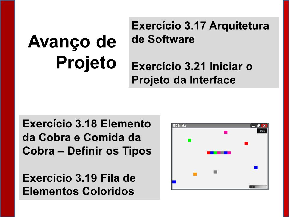 Avanço de Projeto Exercício 3.17 Arquitetura de Software