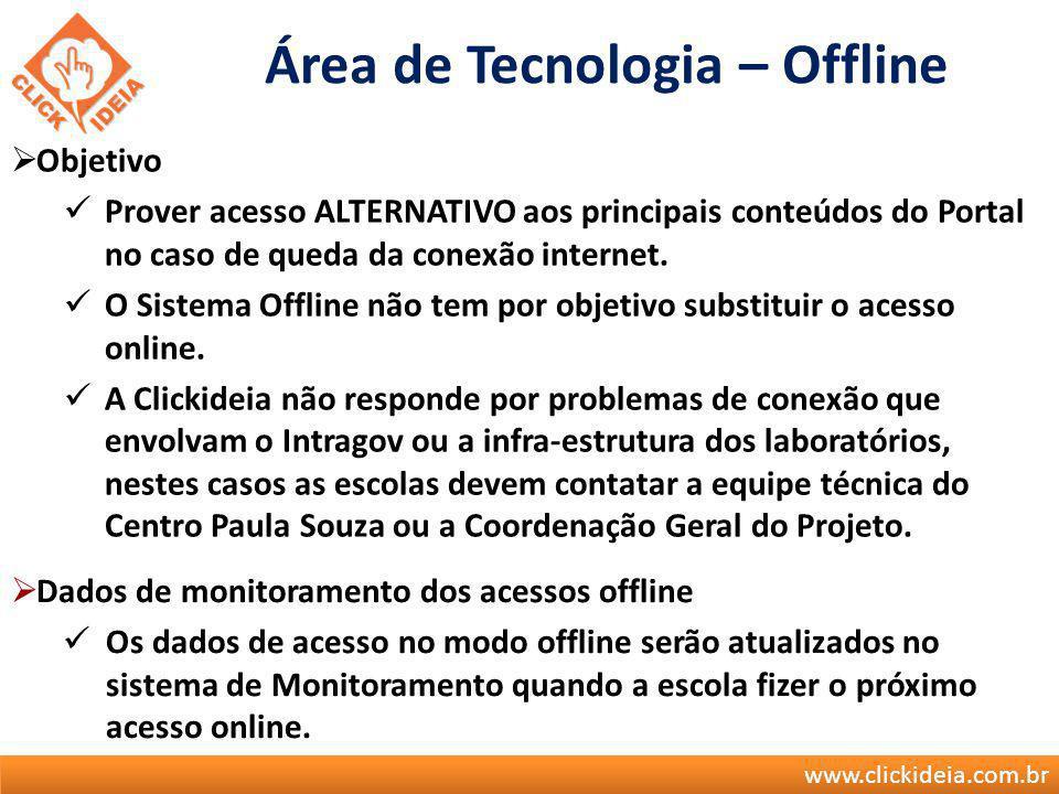 Área de Tecnologia – Offline