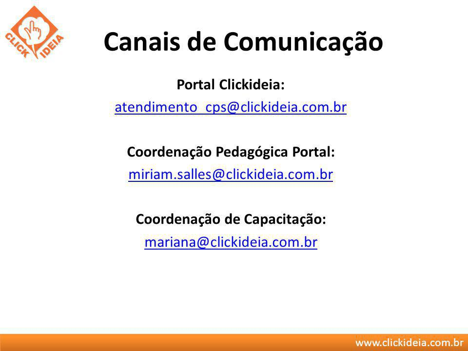 Canais de Comunicação