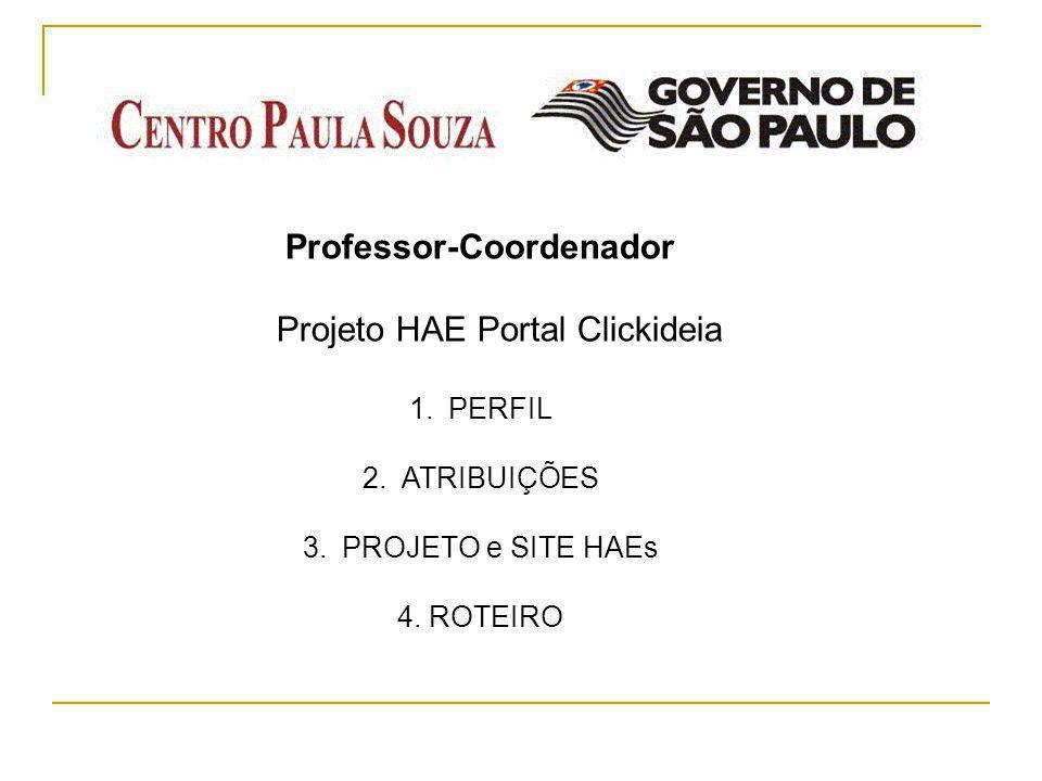 Professor-Coordenador Projeto HAE Portal Clickideia