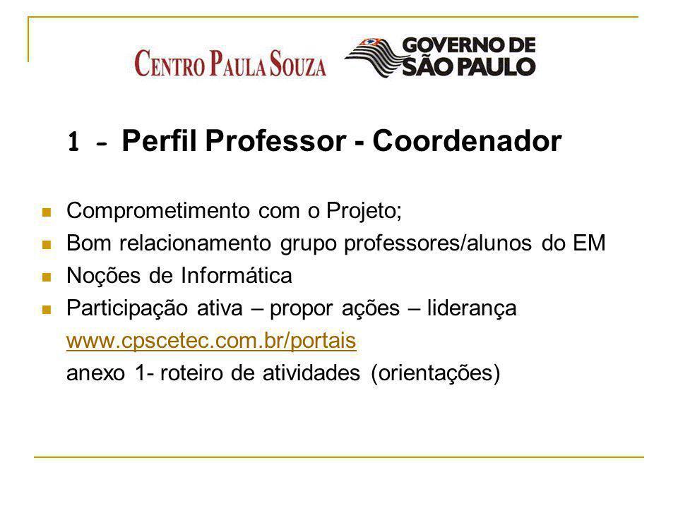 1 - Perfil Professor - Coordenador