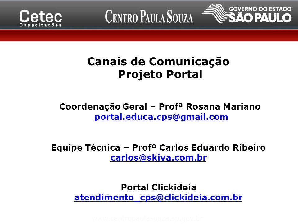 Equipe Técnica – Profº Carlos Eduardo Ribeiro