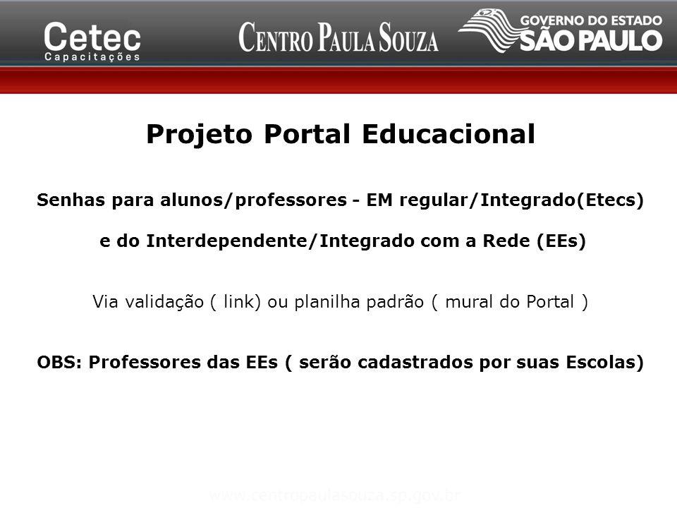Projeto Portal Educacional