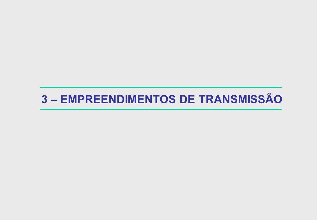 3 – EMPREENDIMENTOS DE TRANSMISSÃO