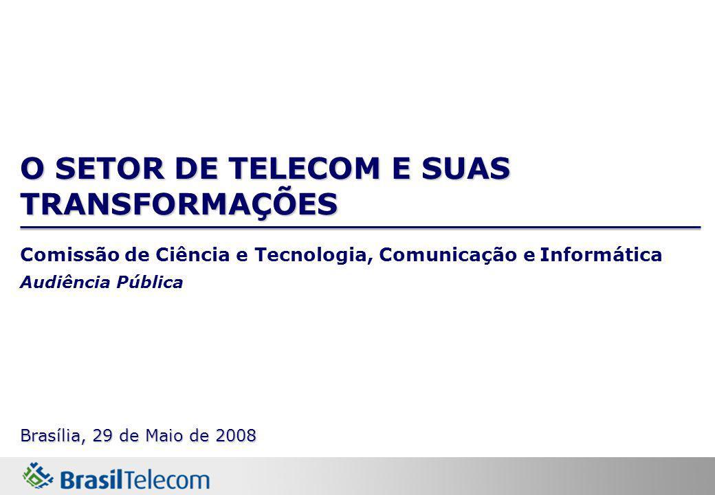 O SETOR DE TELECOM E SUAS TRANSFORMAÇÕES