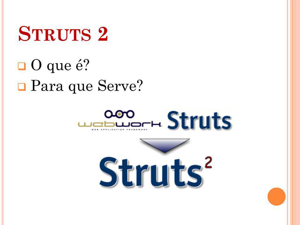 Struts 2 O que é Para que Serve