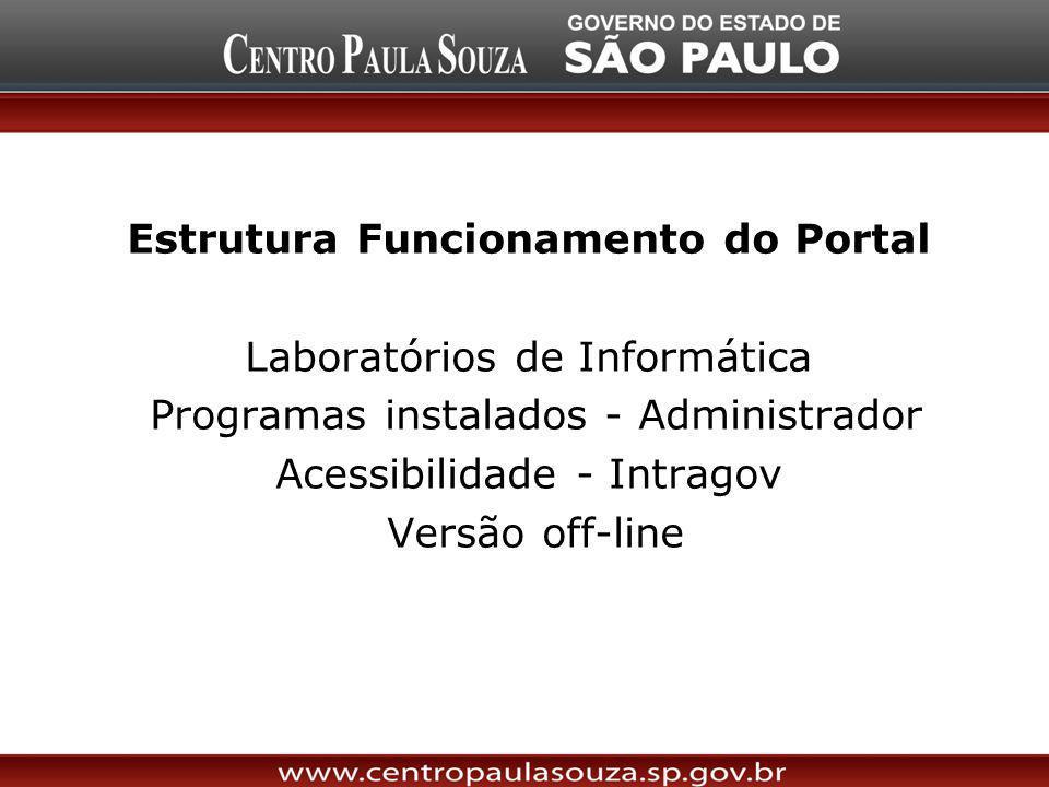 Estrutura Funcionamento do Portal