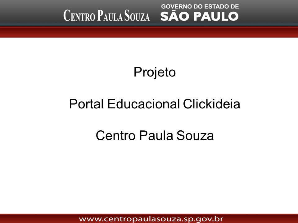 Projeto Portal Educacional Clickideia Centro Paula Souza